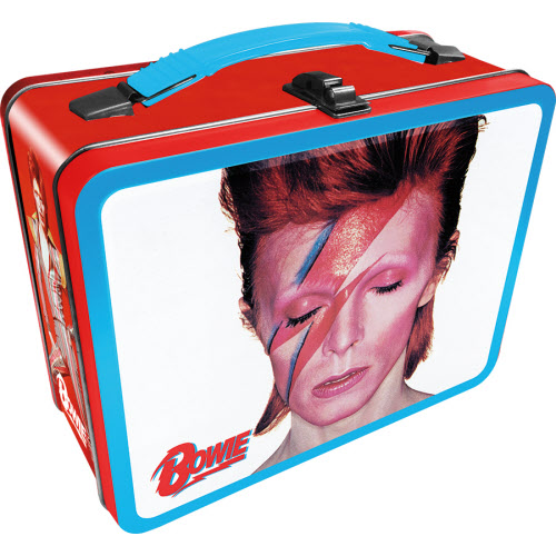 David Bowie Aladdin Sane Gen 2 Fun Box.Tin Tote Lunchbox.
