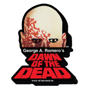 Dawn Of The Dead Logo Funky Chunky Magnet