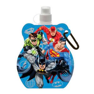 DC Comics Team Up Blue Water Bottle Key Chain