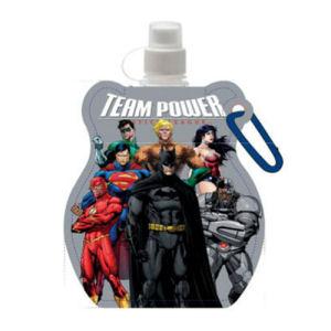 DC Comics Team Power Gray Water Bottle Key Chain