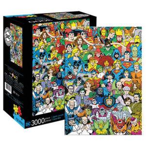 DC Comics Hero and Villain Line Up 3000-Piece Puzzle