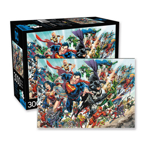 DC Comics Cast 3000 Piece Puzzle.