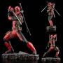 Marvel Universe Deadpool Maximum 1/6th Scale Marvel Fine Art Statue. Deadpool stands almost 11 inches tall in the 1/6th scale.