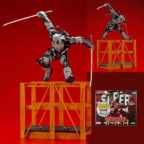 Marvel Comics Super Deadpool X-Force Limited Edition Version ArtFX 1/6 Scale Statue