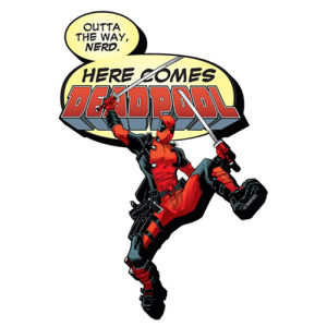 Deadpool Here Comes Funky Chunky Magnet
