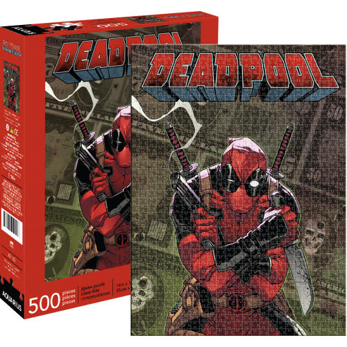 Marvel Deadpool Cover 500 Piece Puzzle.