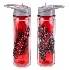 Deadpool 18 Ounce Tritan Water Bottle