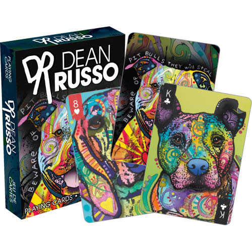 Dean Russo Dogs Playing Cards.