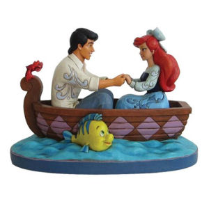 Disney Traditions The Little Mermaid Waiting For A Kiss Ariel and Prince Eric Statue