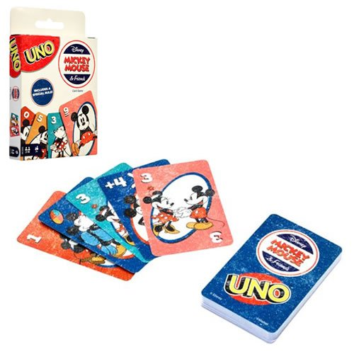 Mickey Mouse & Friends UNO Card Game