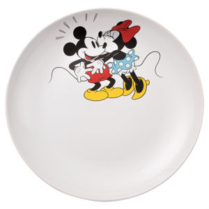 Disney Mickey and Minnie Mouse 14 Inch Ceramic Serving Platter