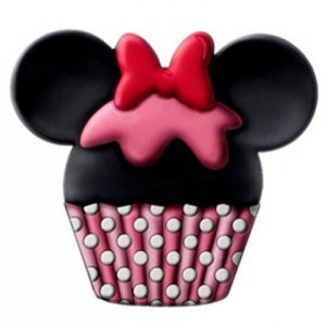 Minnie Mouse Cup Cake Scented PVC Magnet