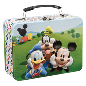 Disney Jr. Mickey Mouse Club Lunch Box Large Tin Tote