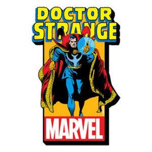 Doctor Stange Comic Logo Funky Chunky Magnet