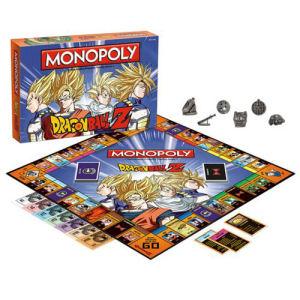 Dragon Ball Z Edition Monopoly Game