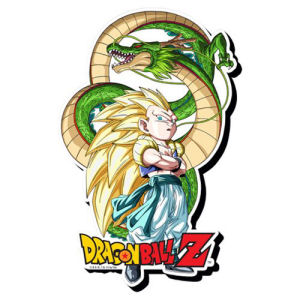 Dragon Ball Z Gotenks Funky Chunky Magnet