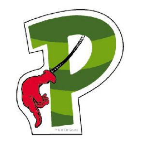 Dr. Seuss Magnetic Wooden Letter P