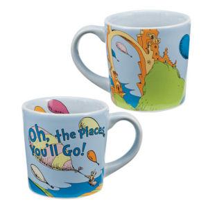 Dr. Seuss Oh the Places 12oz Ceramic Mug
