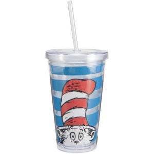 Dr. Seuss Cat in the Hat 18 Ounce Acrylic Travel Cup