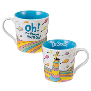 Dr. Seuss Oh the Places Youll Go 12 Ounce Ceramic Mug