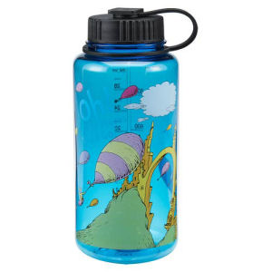 Dr. Seuss Oh the Places Youll Go 32 Ounce Tritan Water Bottle