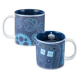 Doctor Who 20 Ounce Heat-Reactive Ceramic Mug
