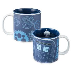Doctor Who 20 Ounce Heat-Reactive Ceramic Mug
