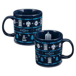 Doctor Who Ugly Sweater 20 Ounce Ceramic Mug