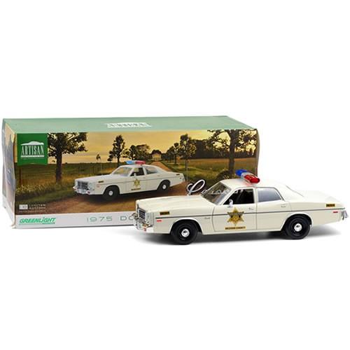 Artisan Collection 1975 Dodge Coronet Hazzard County Sheriff 1:18 Scale Diecast