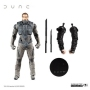 Dune Duncan Idaho (BAF Beast Rabban)   7 Inch Scale Action Figure. Includes build a figure pieces to Build Beast Rabban. Comes with Character specific accessories.