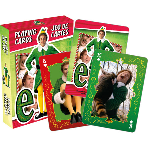 Elf Buddy Playing Cards.