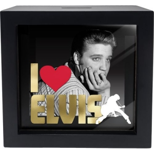 Elvis Shadow Box Bank