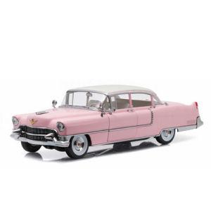 Elvis Presley 1955 Pink Cadillac Fleetwood Series 60 1/18th Scale Die-Cast Metal Vehicle