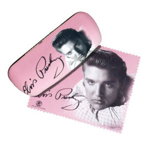 Elvis Presley Portrait Eyeglass Case