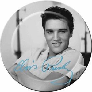 Elvis Melamine Plates