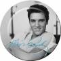 Elvis Melamine Plates.