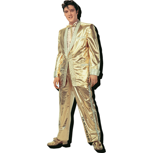 Elvis Gold Suit Chunky Funky Magnet.