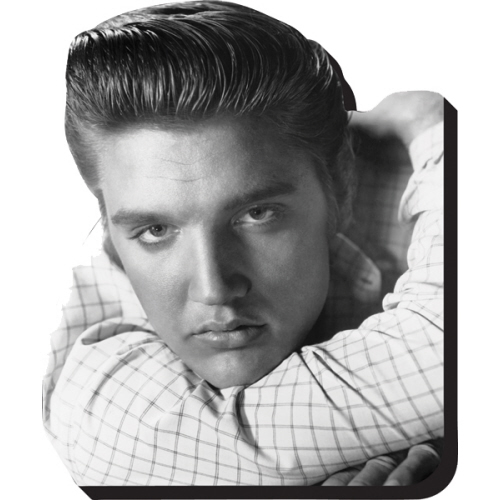 Elvis Heart Throb Funky Chunky Magnet.