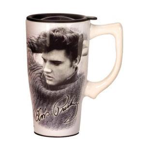 Elvis Presley Legend Travel Mug with Handle