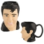 Elvis Presley 18 Ounbce Sculpted Ceramic Mug.