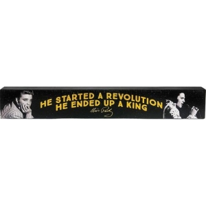 Elvis Presley Long Wood Sign