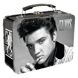 Elvis Presley Lunch Box Large Tin Tote
