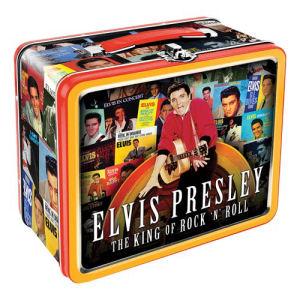 Elvis Albums Large Fun Box Tin Tote