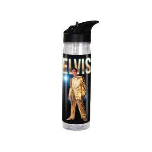 Elvis Presley 18 Ounce Acrylic Flip-Top Water Bottle