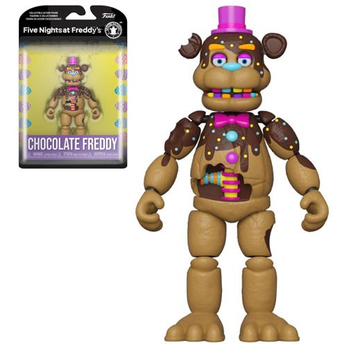 Five Nights at Freddys Special Delivery Chocolate Freddy 5 inch Action Figure.