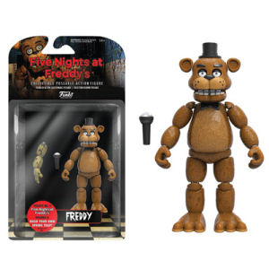 Five Nights at Freddys Freddy 5 Inch Action Figure