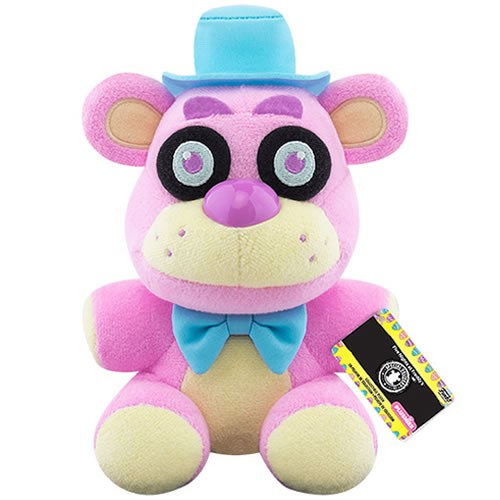 Five Nights at Freddys Spring Colorway Freddy (Pink) Plush.