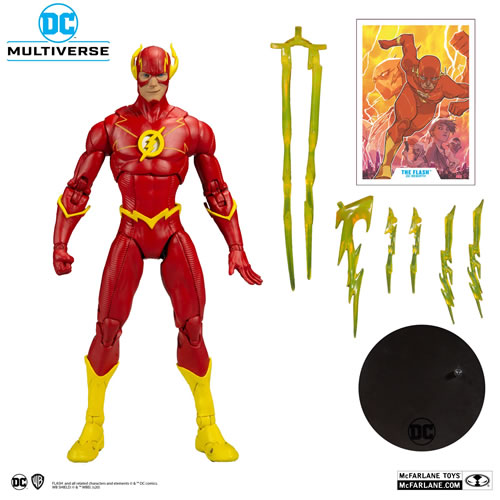 DC Multiverse Flash (Injustice 2) 7 Inch Scale Action Figure.