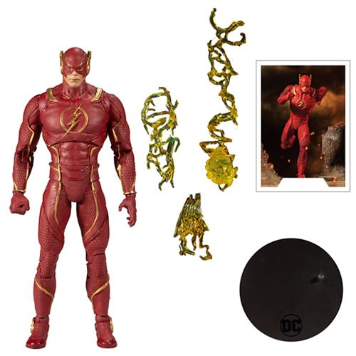 DC Multiverse Injustice 2 Flash 7 Inch Scale Action Figure. Includes collectable art card with The Flash artwork on front and character biography on the back.