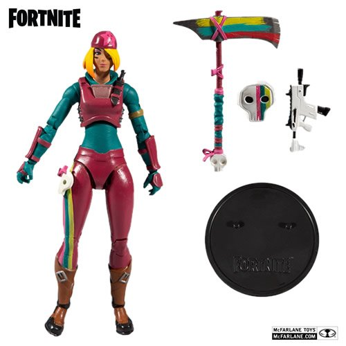 Fortnite Skully 7 Inch Scale Action Figure.